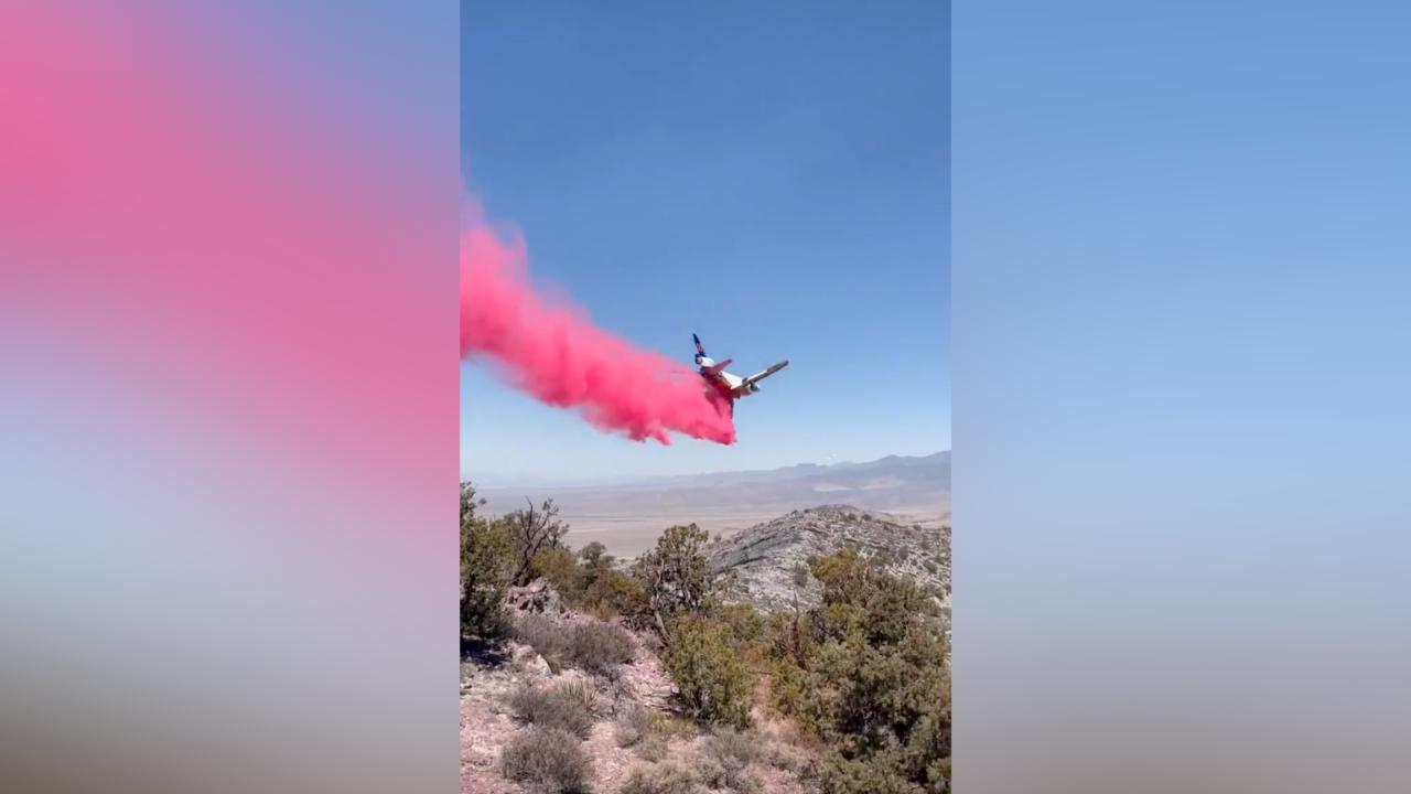 UPDATE: Sandy Valley Fire now 40% contained, almost 1,400 acres