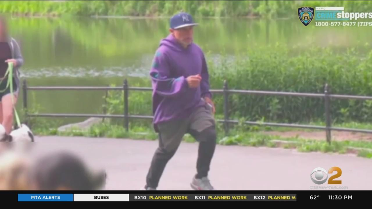 Caught On Camera: Police Searching For Suspect In Violent Robbery In Central Park
