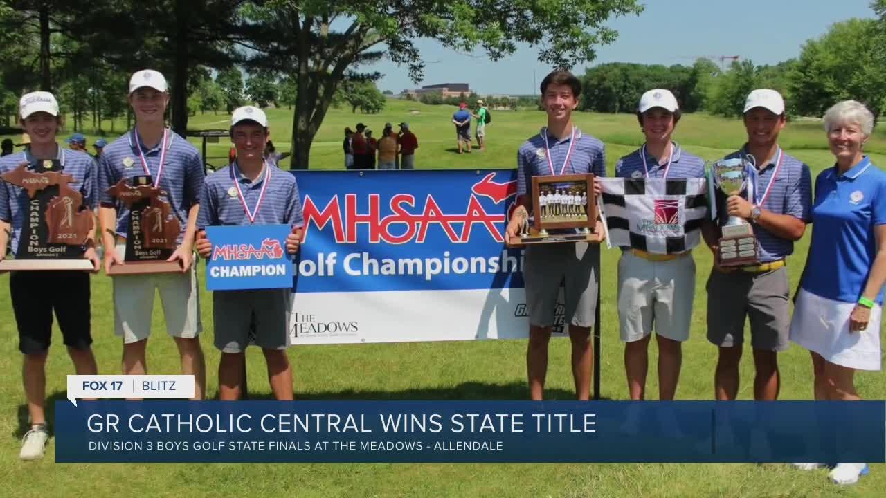 GR Catholic Central wins golf state title