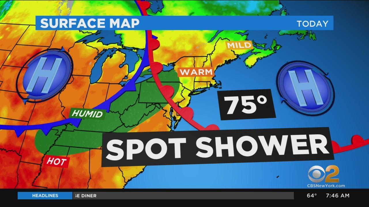 New York Weather: CBS2's 6/13 Sunday Morning Update