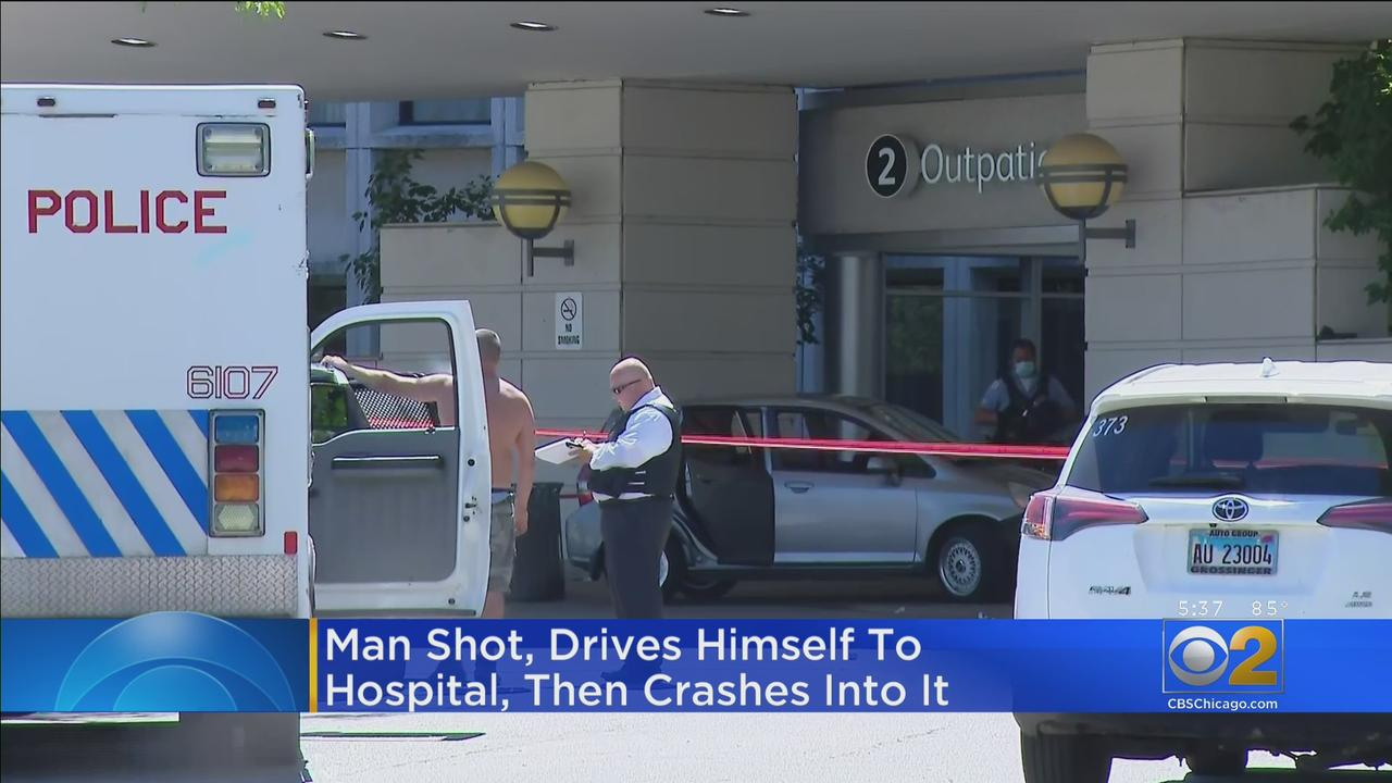 Man Shot In Old Norwood Park, Crashes Into Hospital Afterward