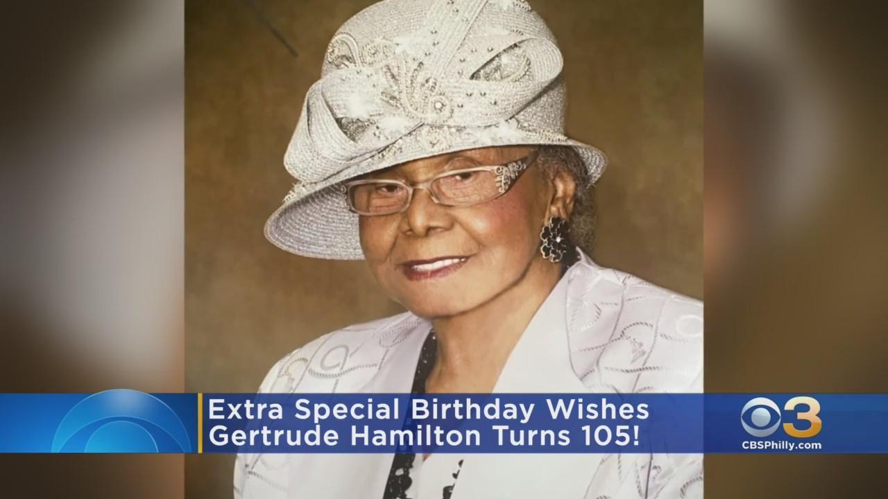 Philadelphia Woman Celebrating 105th Birthday