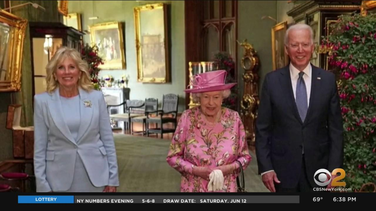 President Biden Meets With Queen Elizabeth