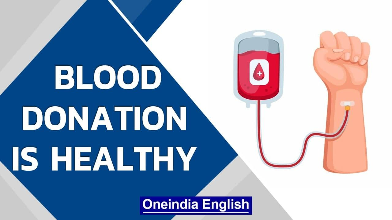 World Blood Donor Day 2021: Theme, importance, and health benefits   Know all   Oneindia News