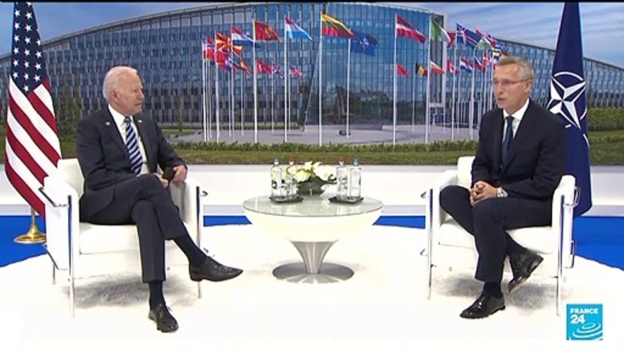 Defence of Europe is a 'sacred obligation', Biden tells NATO