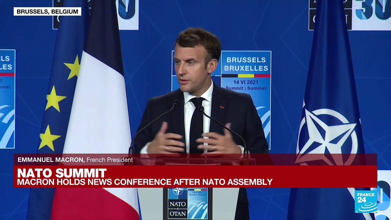 REPLAY: Emmanuel Macron holds news conference after NATO assembly