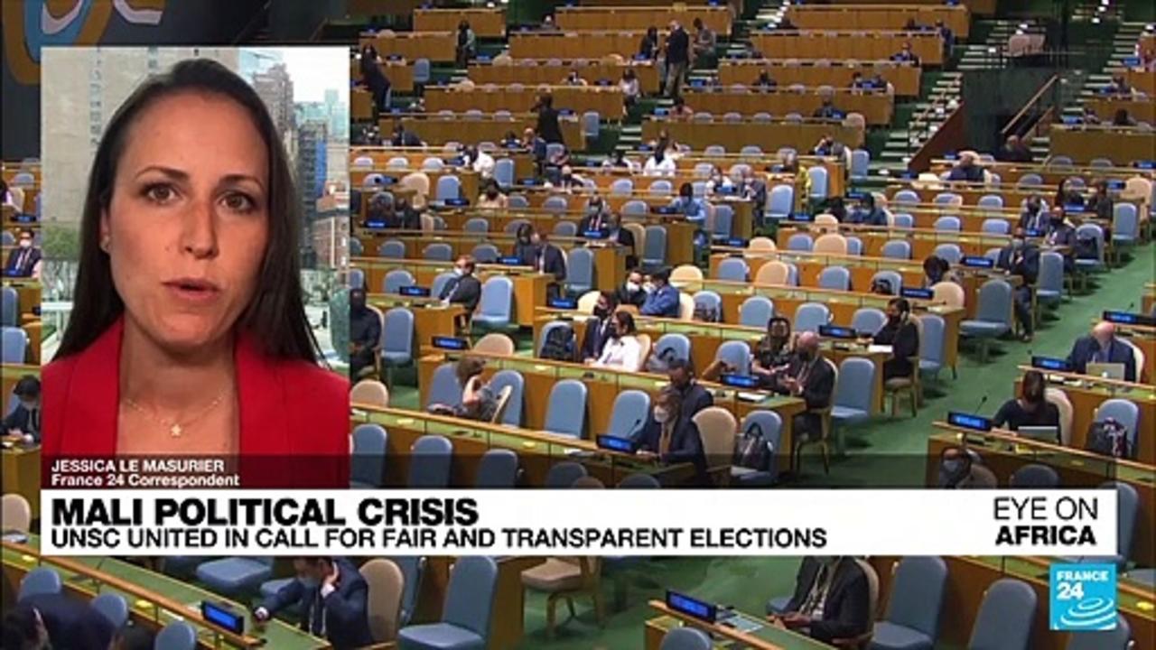 Mali political crisis: UN calls for free, fair polls minus coup leaders