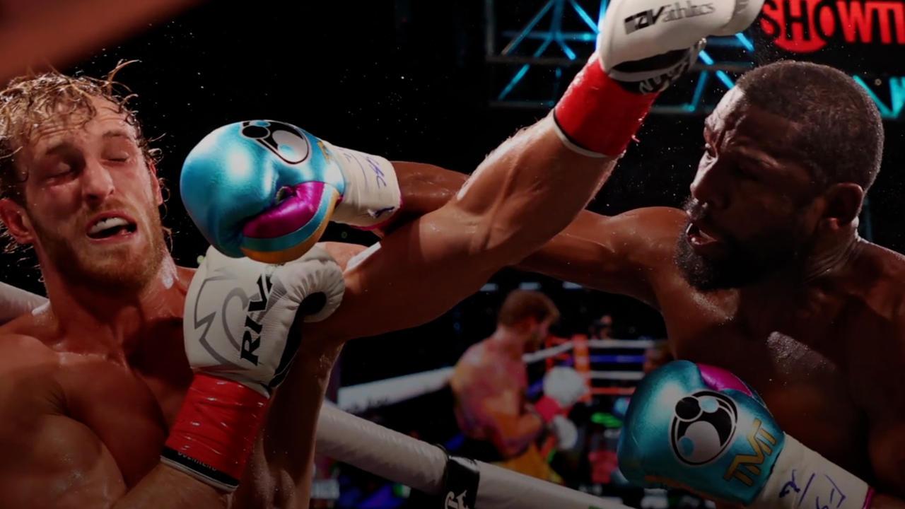 La pelea entre Logan Paul y Floyd Mayweather generó $50 millones en ventas