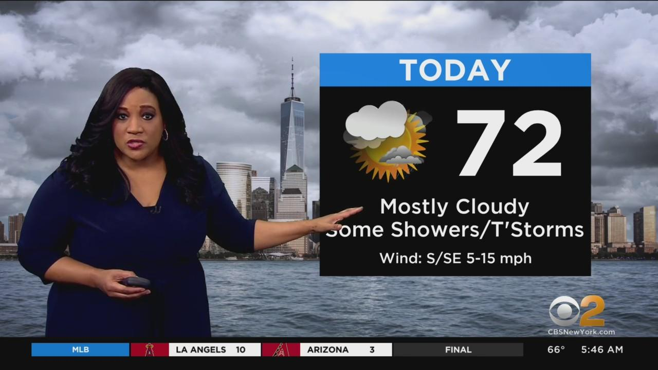 New York Weather: Thunderstorms To Start Work Week