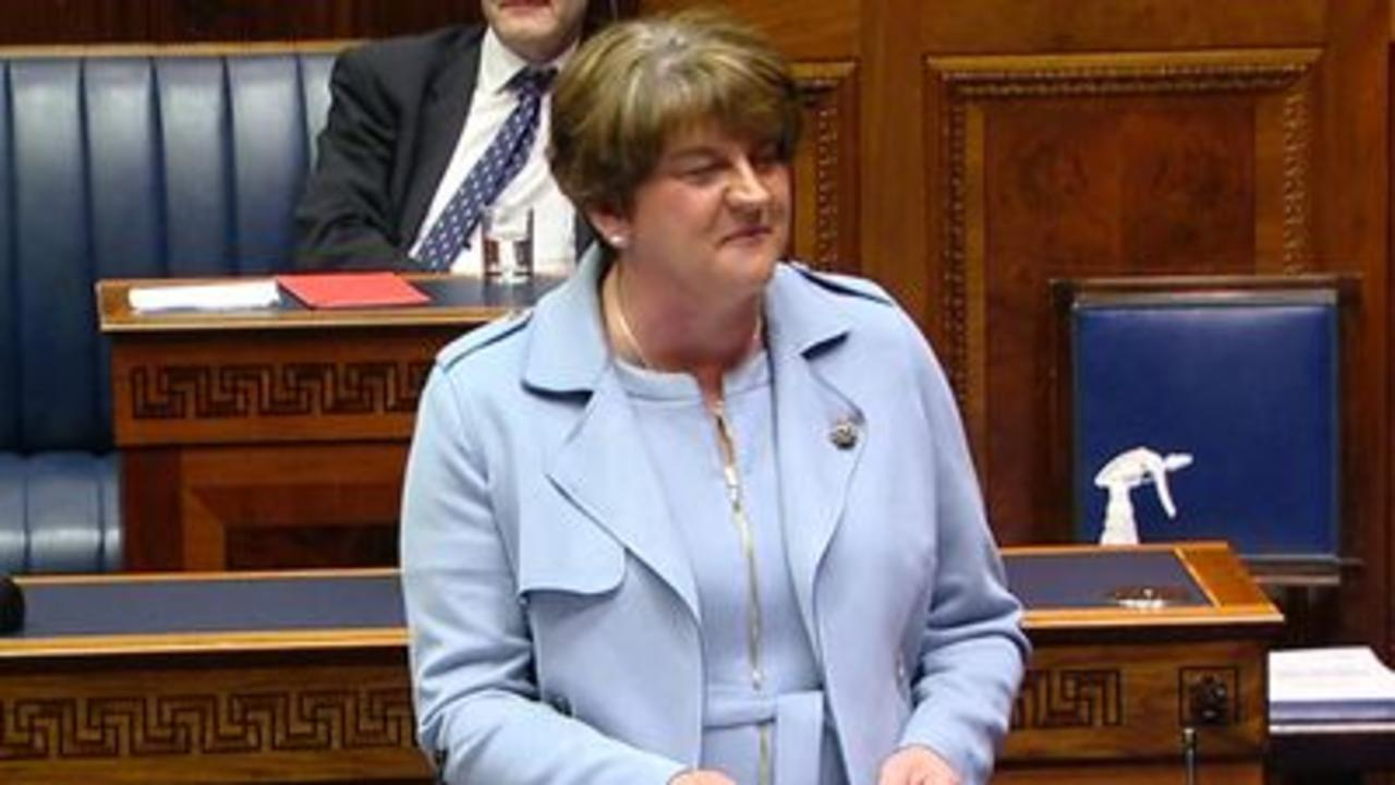 Arlene Foster steps down as first minister