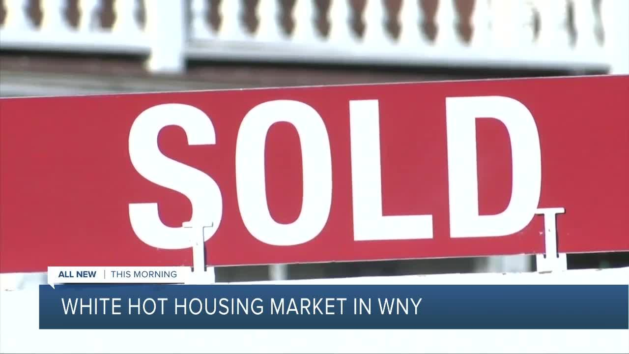 Advice for home buyers in Buffalo's hot housing market