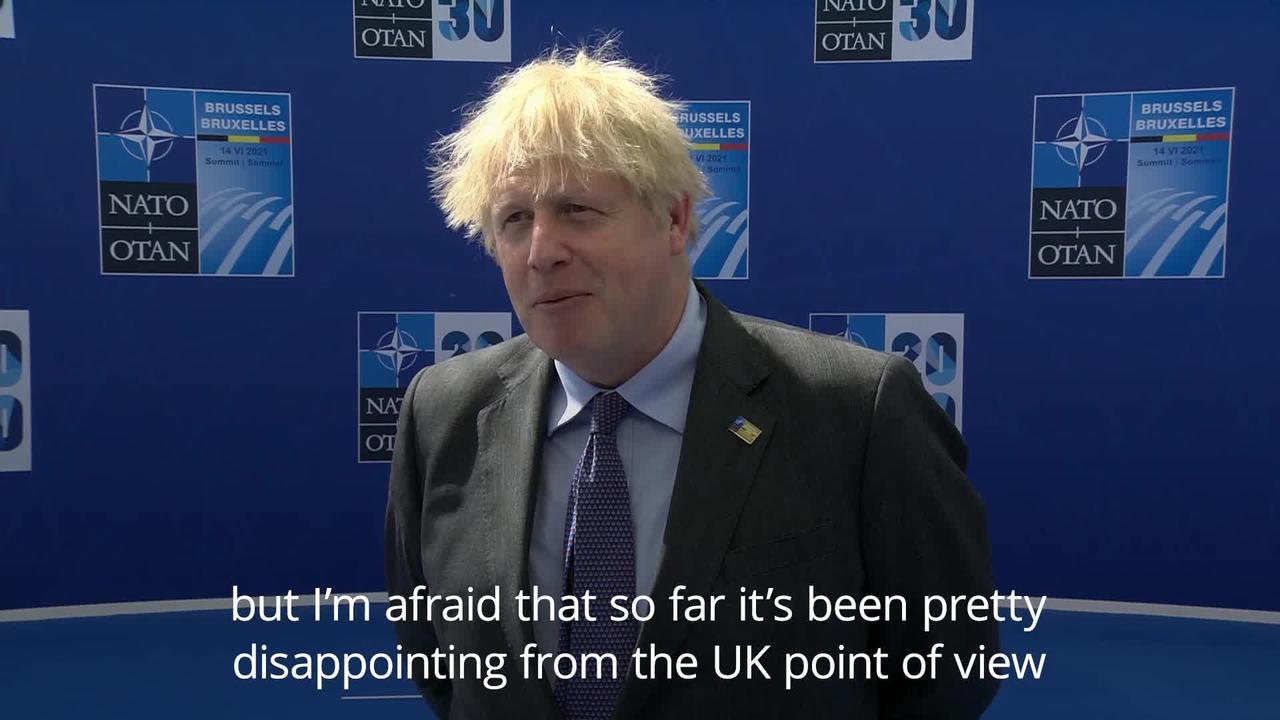 Boris Johnson: Nato seeks to avoid new Cold War with China