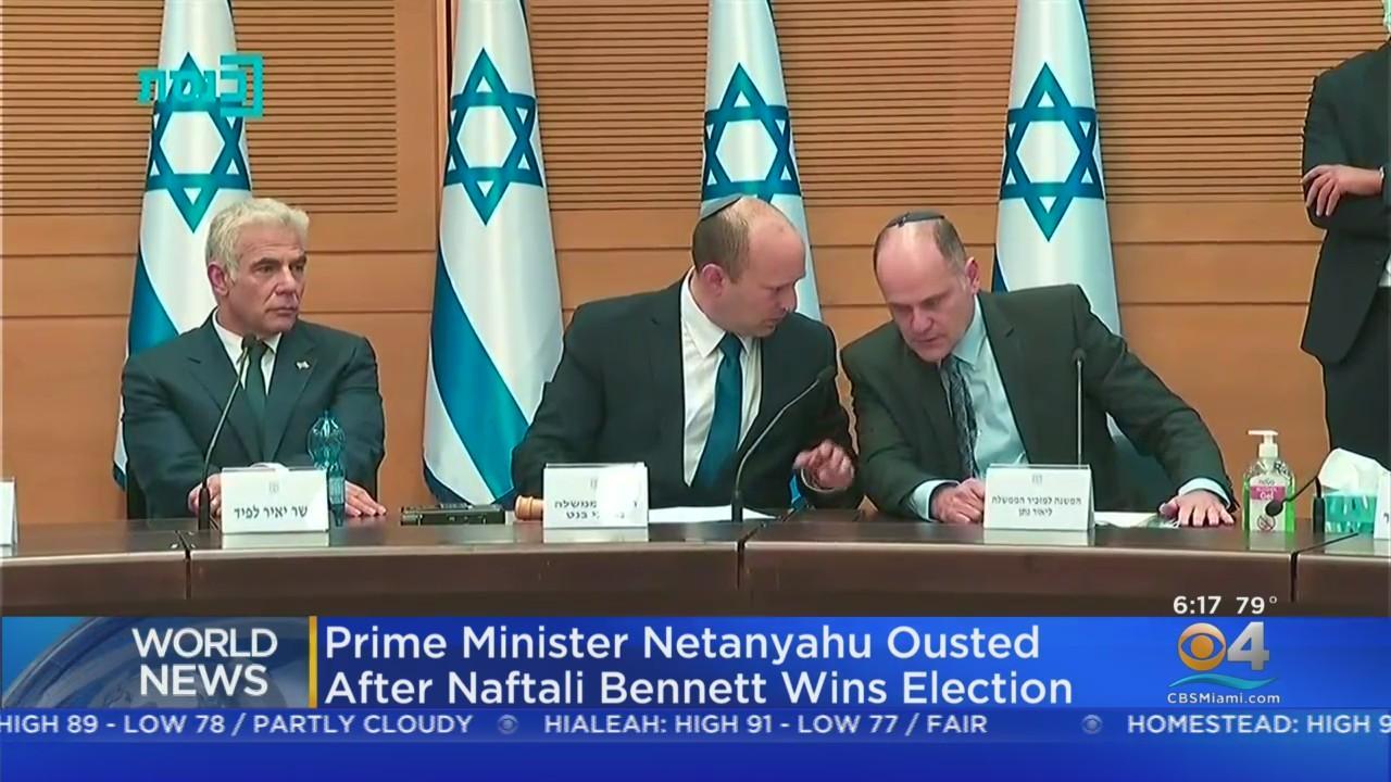 Prime Minister Benjamin Netanyahu Ousted