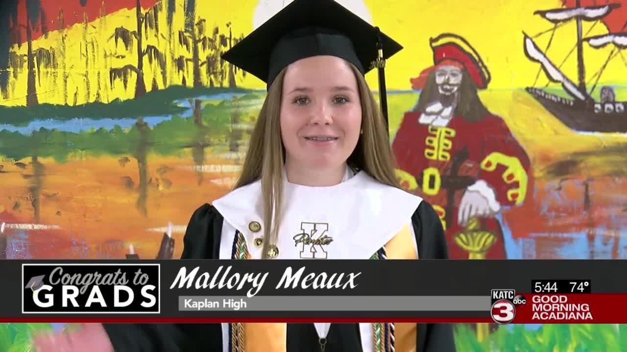 Congrats to Grads: Mallory Meaux