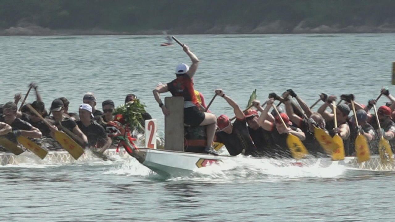 Hong Kong: Dragon Boat Festival held despite COVID restrictions