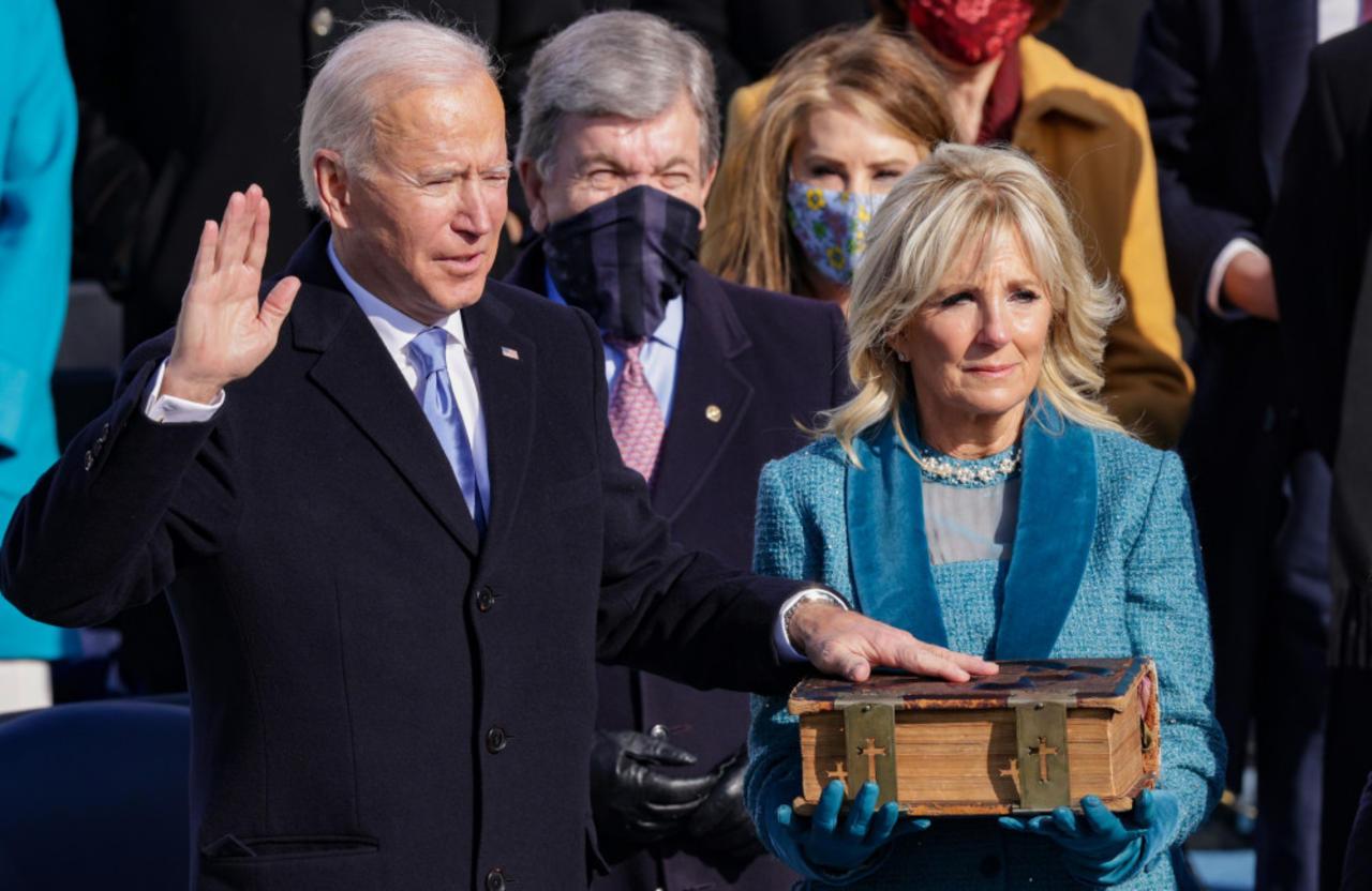 Joe Biden vergleicht die Queen mit seiner Mutter