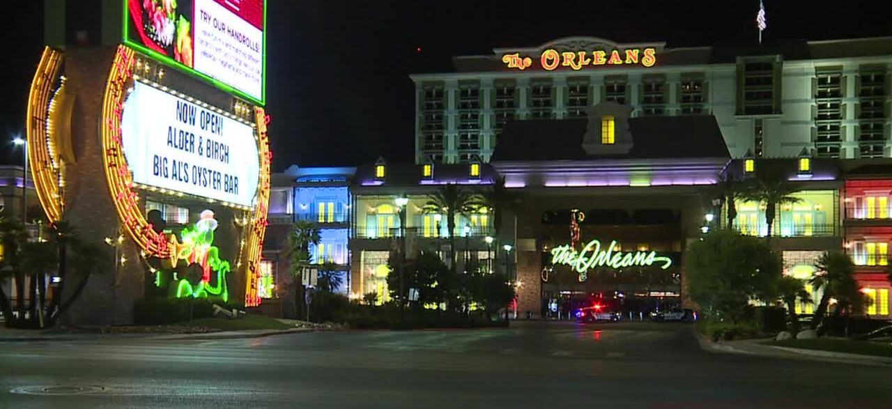 Man stabbed at Orleans hotel-casino in Las Vegas