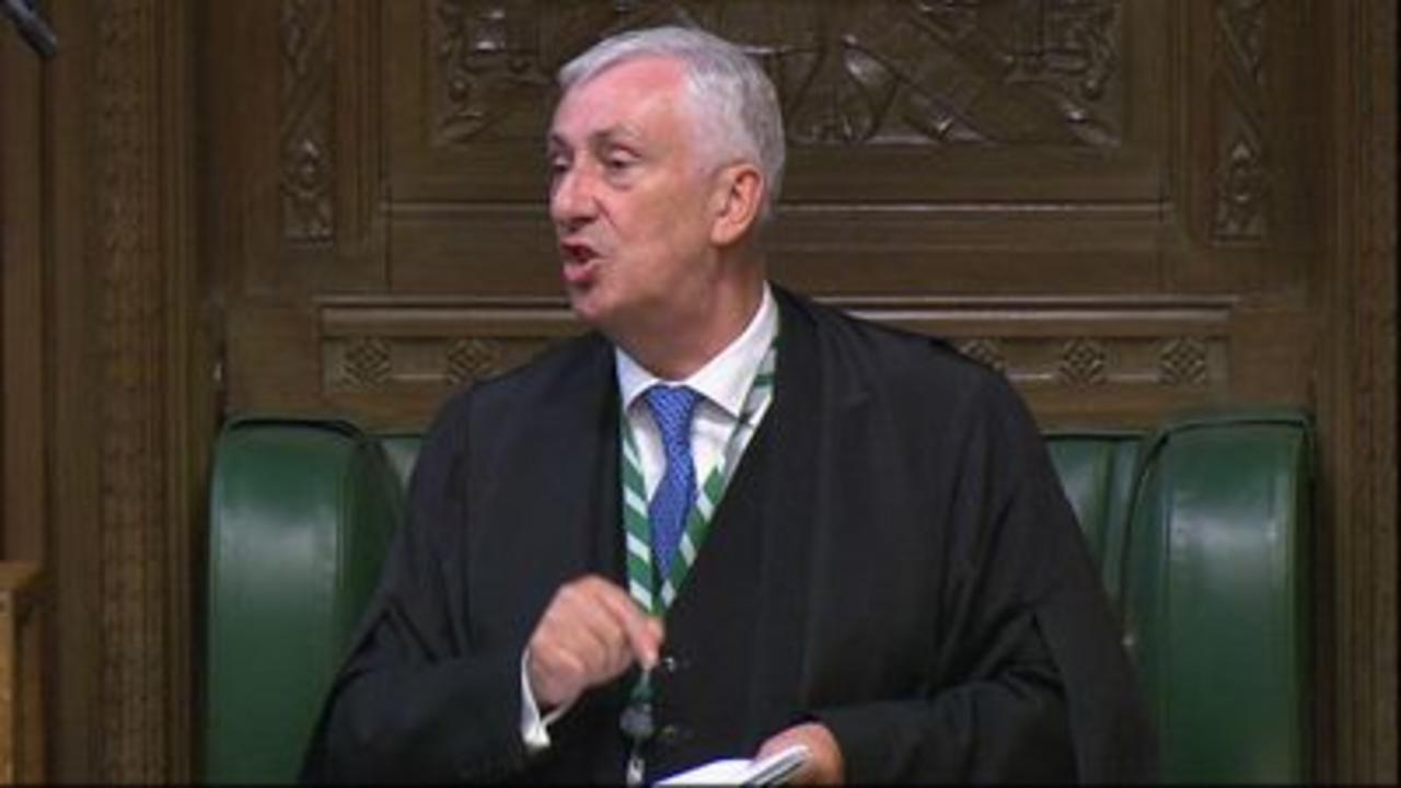 Speaker blasts PM for 'running roughshod' over MPs