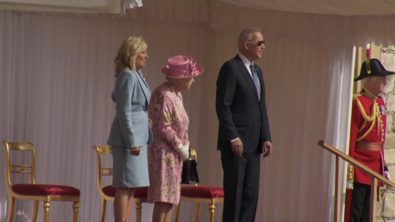 U.S. President Joe Biden Meets Queen Elizabeth II