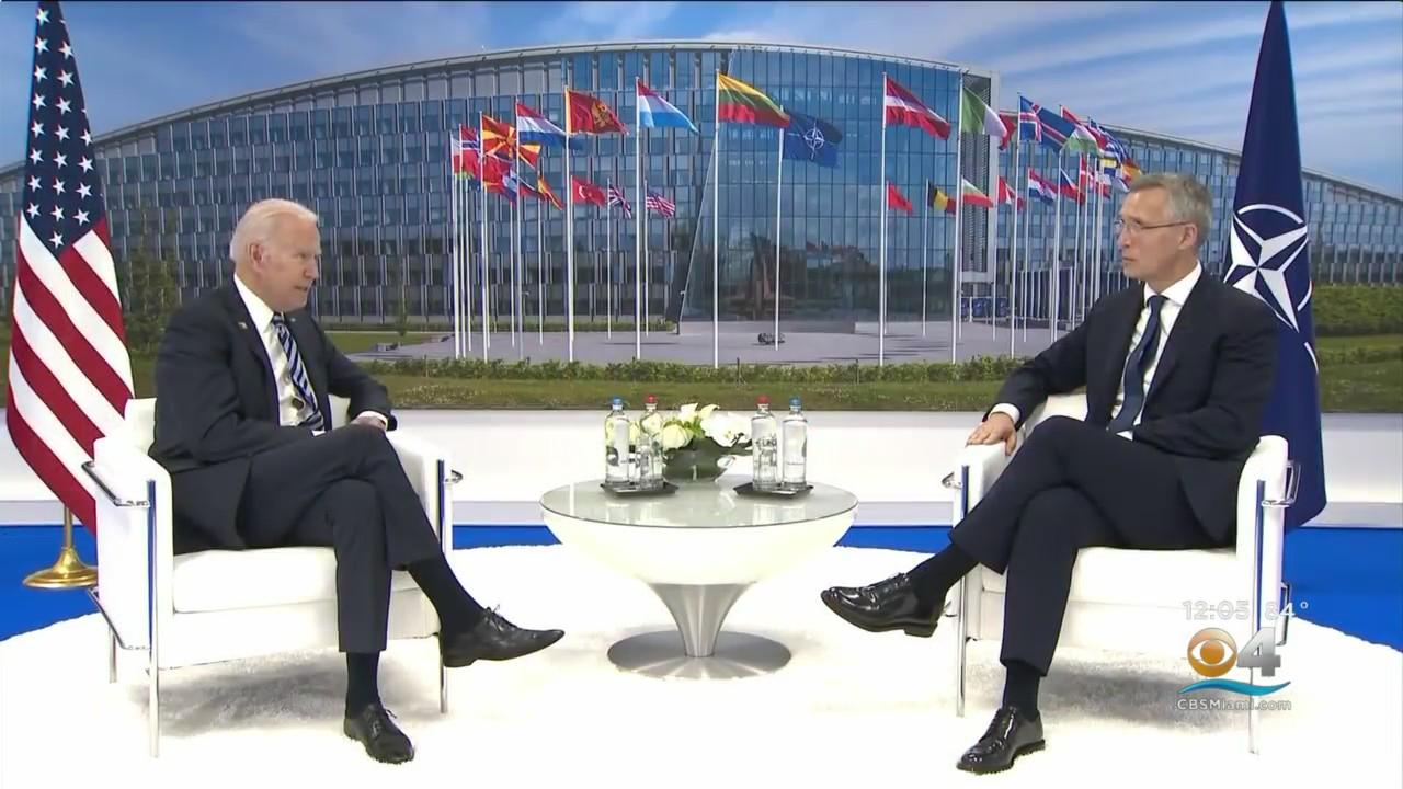 President Biden Tells NATO A Strong Alliance Is Essential For America
