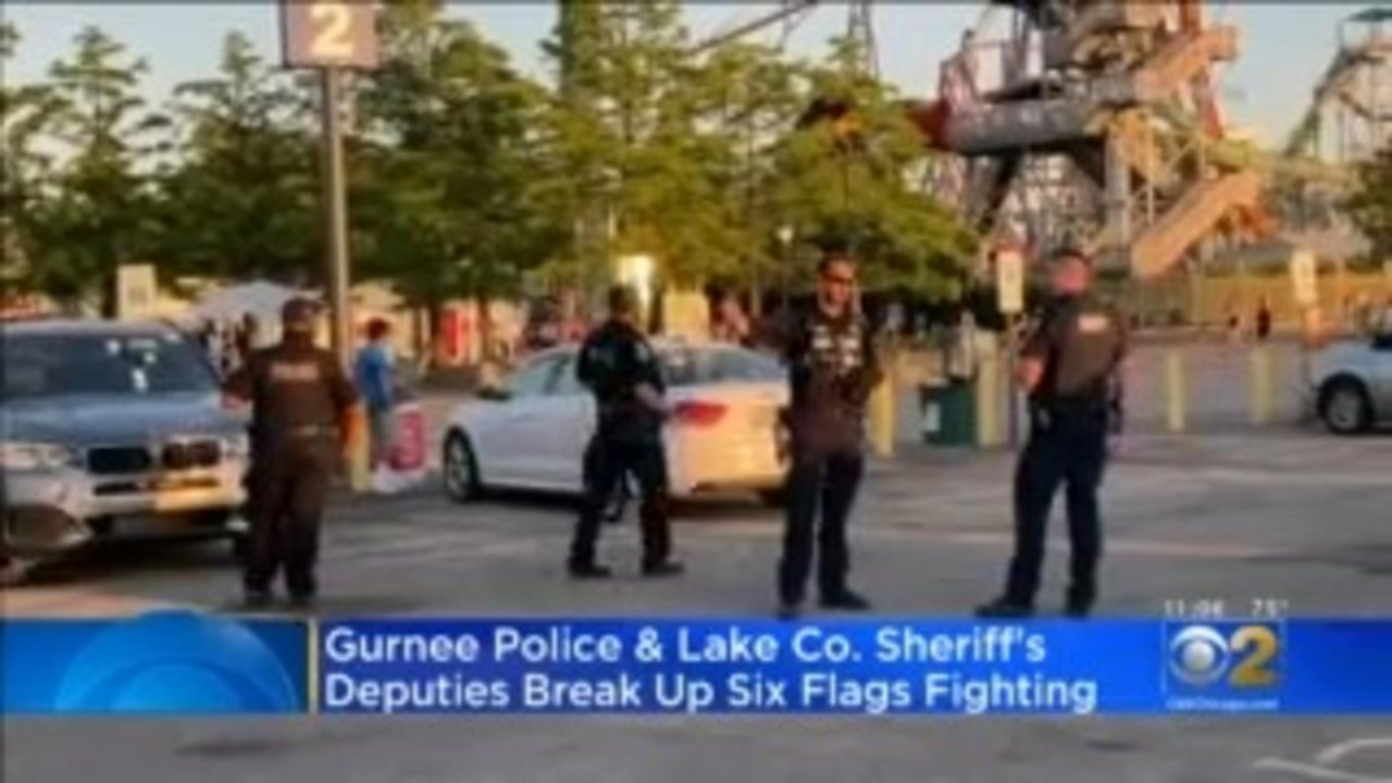 Fights At Six Flags