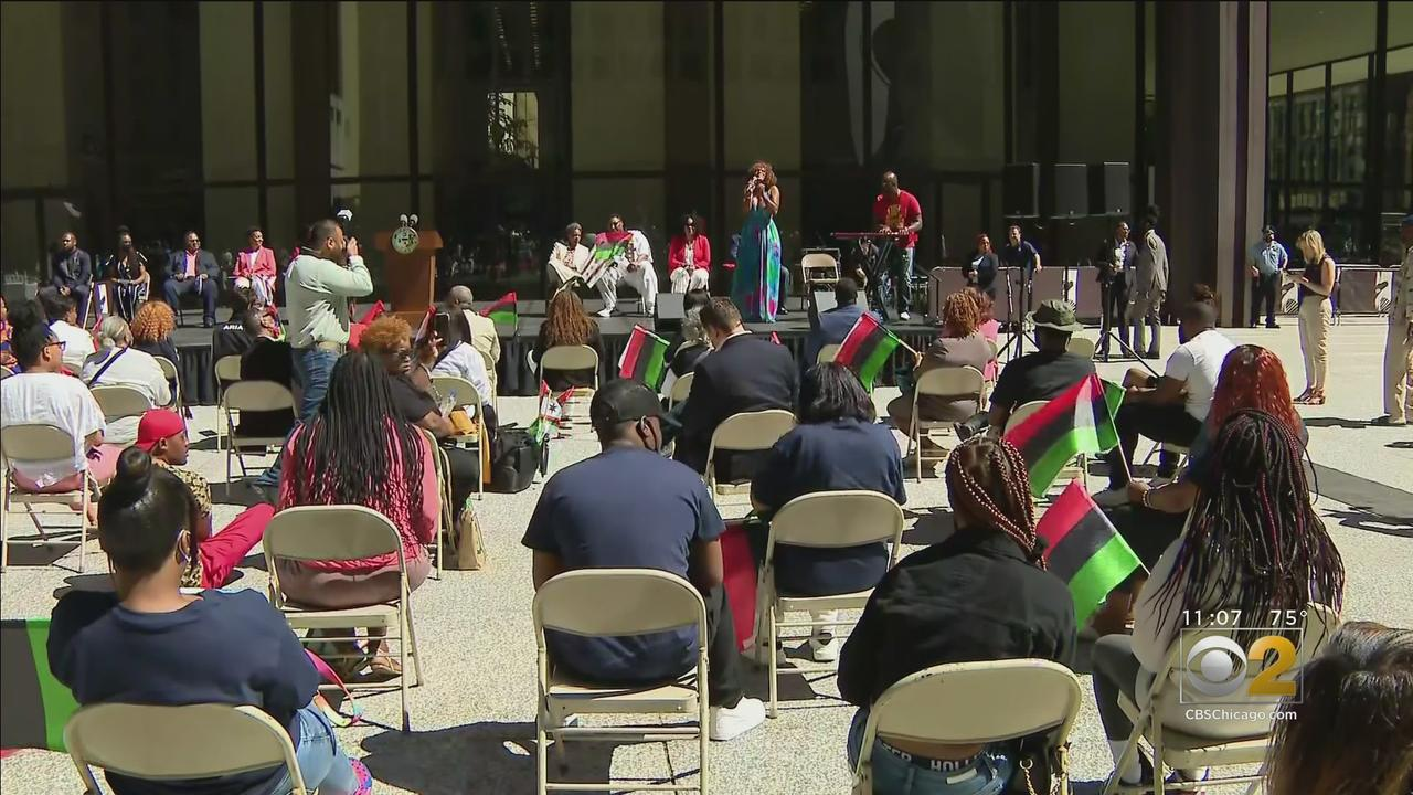 City Of Chicago Commemorates Juneteenth