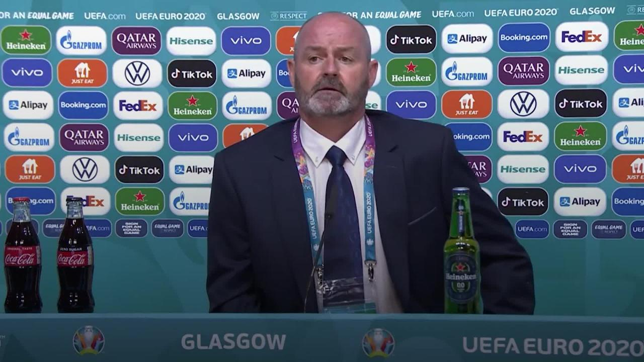 Scotland boss Steve Clarke: Disappointed but ready for the next game