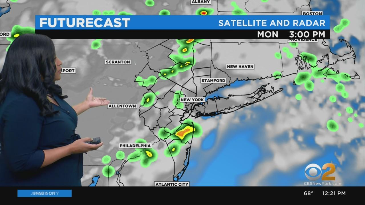 New York Weather: Unsettled Stretch