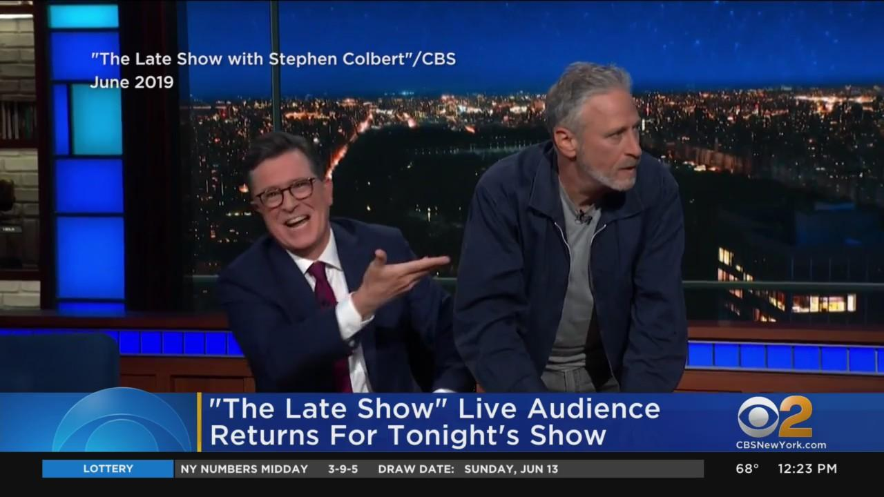 Late Show With Stephen Colbert Returns On CBS2