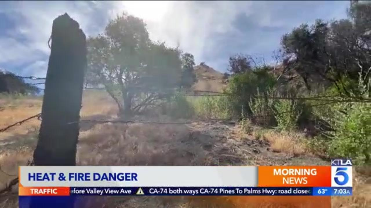 California heat wave set to push temperatures well over 100 degrees, heighten fire danger