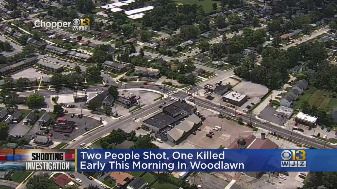 Man Killed, Woman Injured In Woodlawn Double Shooting