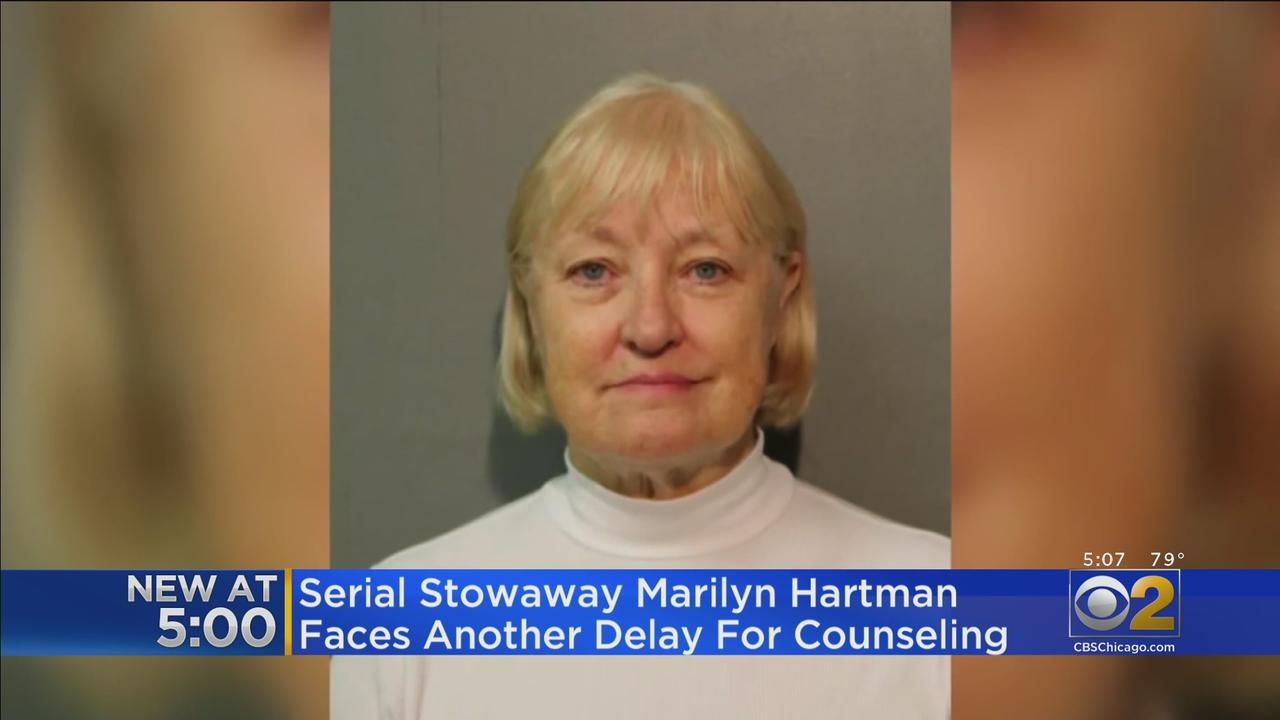 Serial Stowaway Marilyn Hartman Faces Another Delay For Counseling