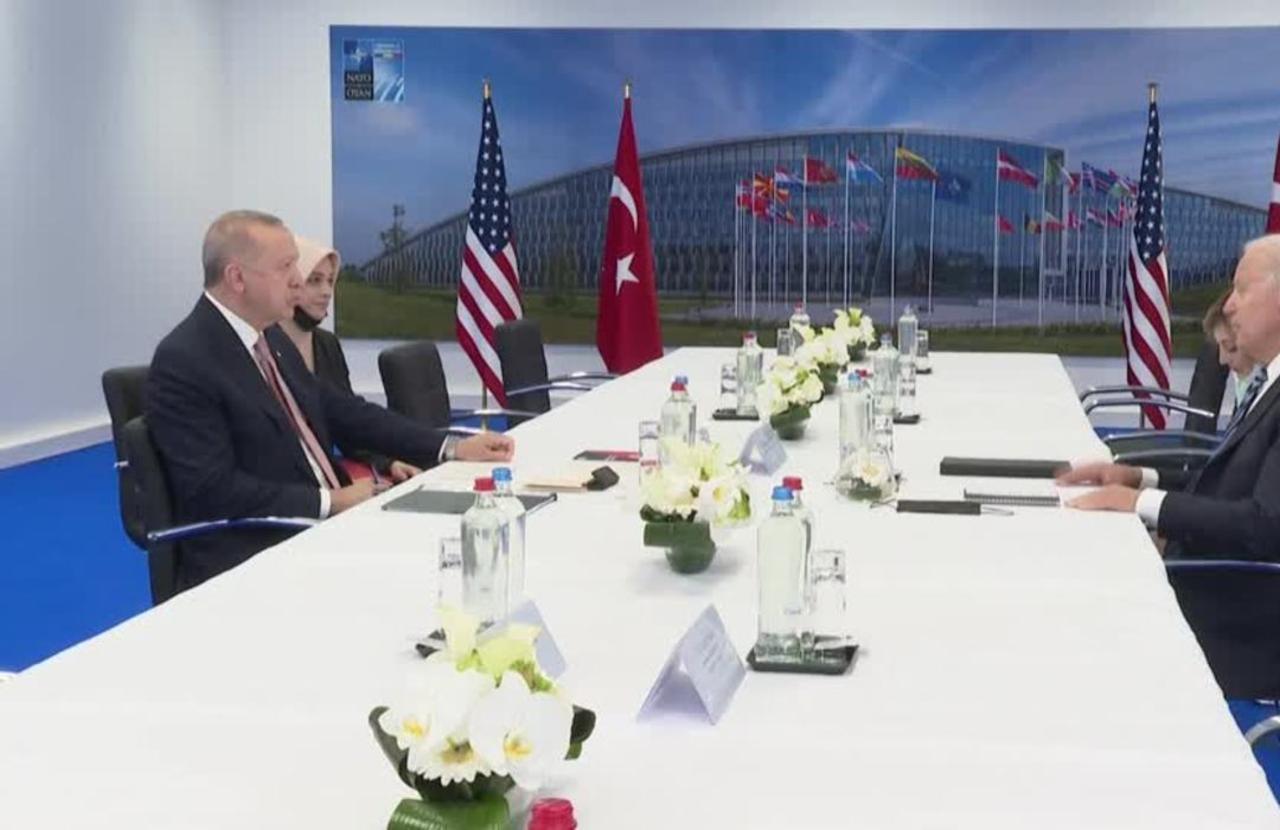 Biden, Erdogan upbeat but no breakthrough disclosed
