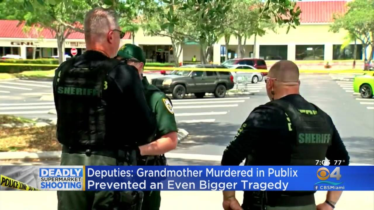 Deputies: Grandmother Murdered In Publix Shooting Prevented Even Bigger Tragedy