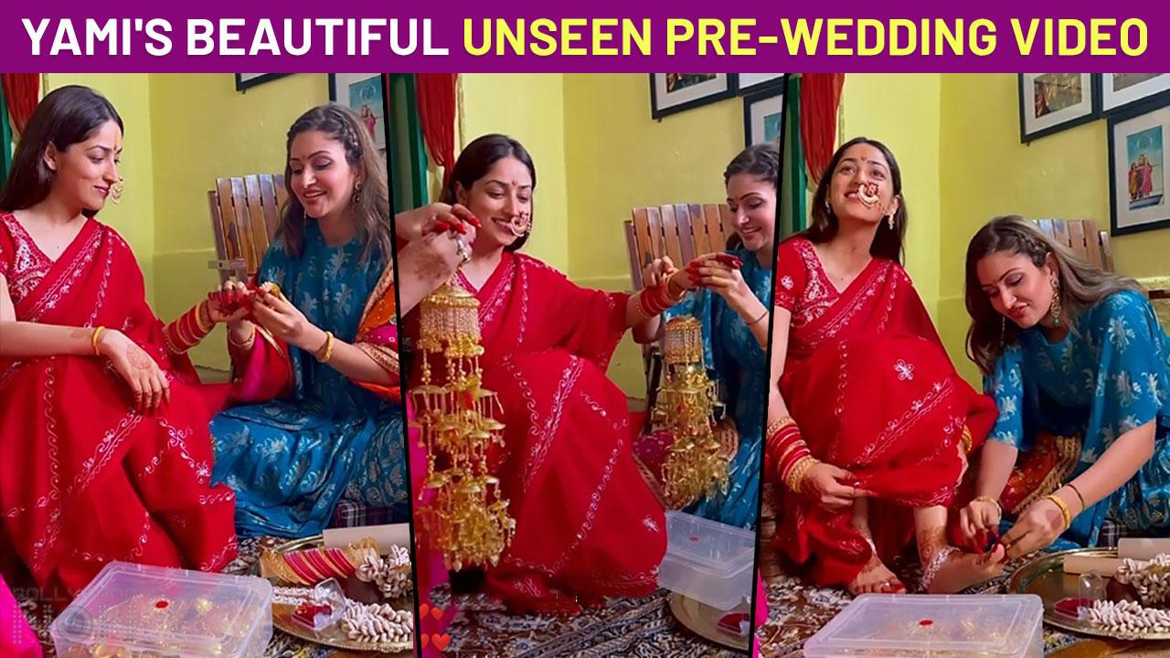 Yami Gautam Shares UNSEEN Pre-Wedding Video From Her Kaleera Ceremony