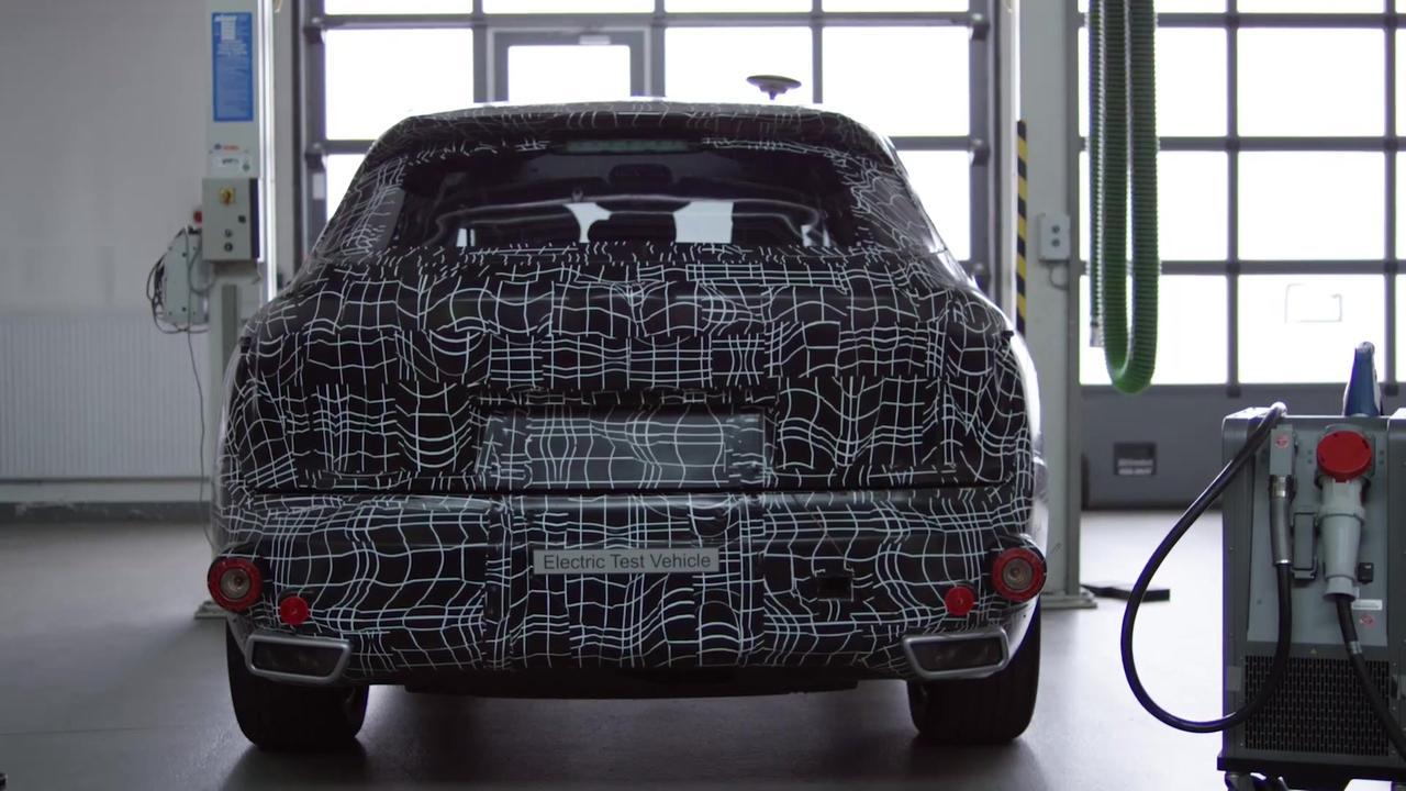 BMW iX - Development - Refuelling Aschheim