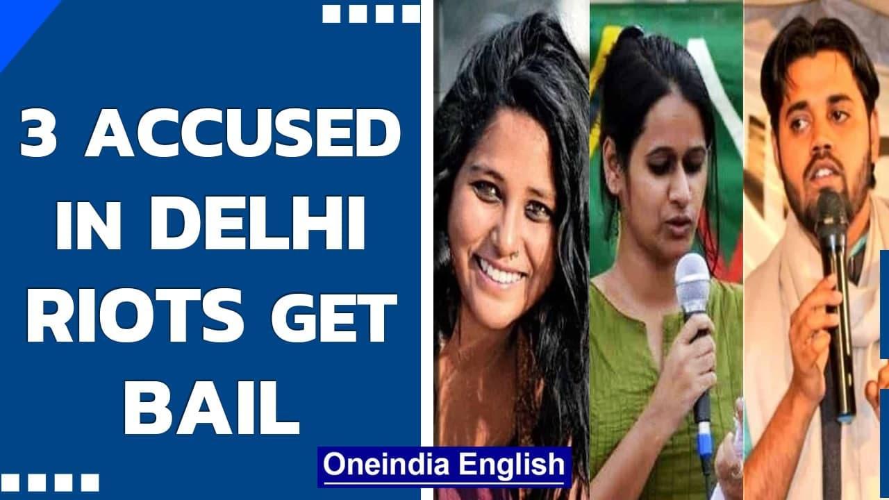 NE Delhi riots: HC grants bail to 3 UAPA accused under FIR 59   Know all   Oneindia News