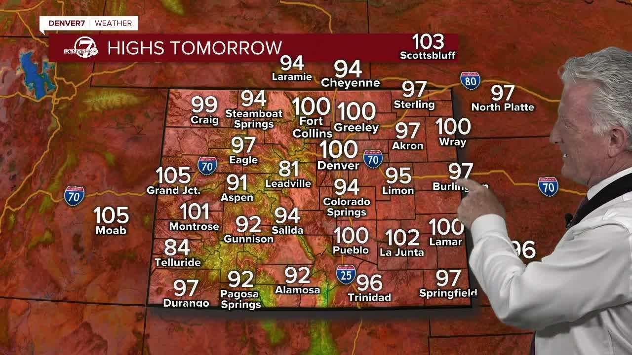 Monday, June 14 evening forecast