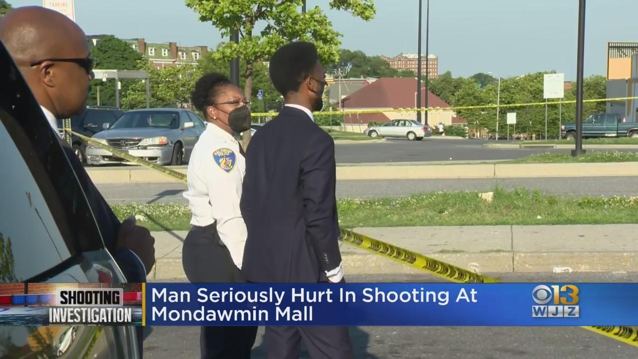 Man Shot At Mondawmin Mall Monday Afternoon