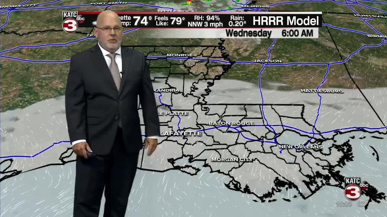 ROB'S WEATHER FORECAST PART 1 10PM 6-14-2021