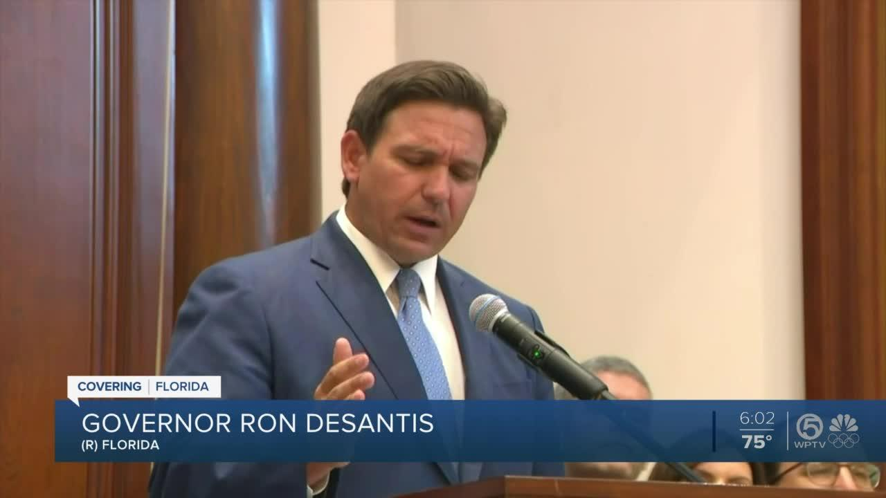 DeSantis signs bill requiring 'moment of silence' in schools