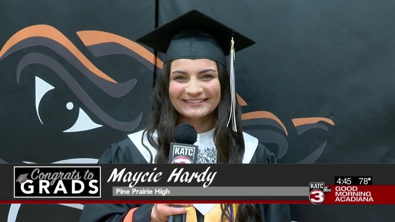 Congrats to Grads: Maycie Hardy