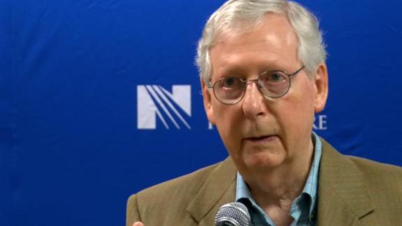 McConnell vows to deny Biden SCOTUS pick if GOP wins back Senate