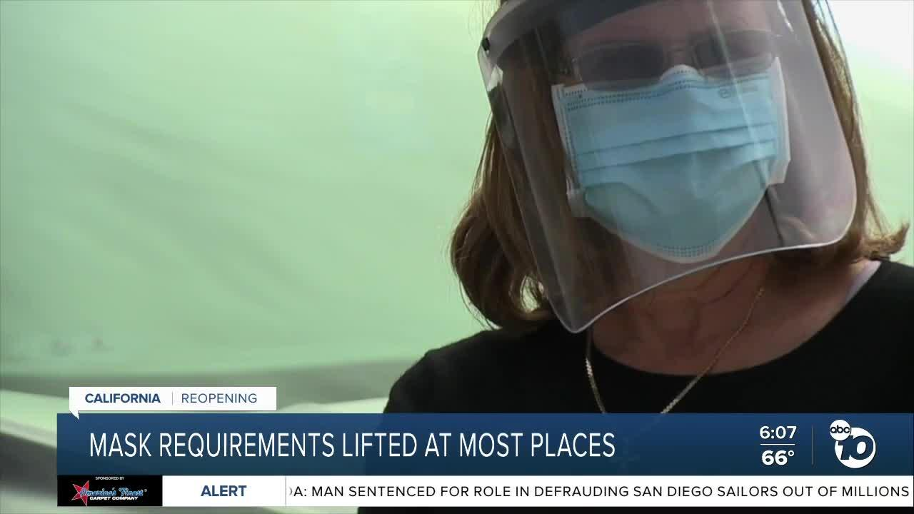 Masks still required at many places despite reopening
