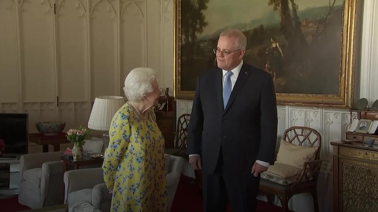 Australian PM Scott Morrison tells Queen she was 'quite the hit' at G7 summit
