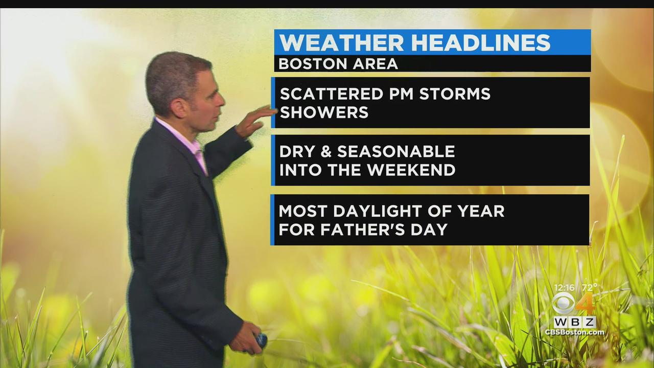 WBZ Midday Forecast For June 15