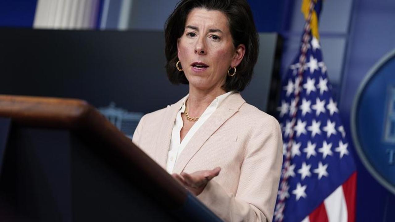 US and EU need to write the rules for new technologies before China, says US Secretary Raimondo