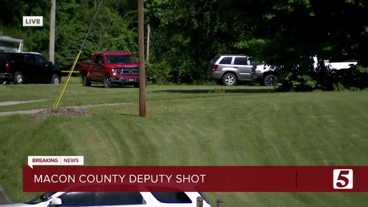 Macon Co. deputy injured, subject killed in shooting at Westmoreland home