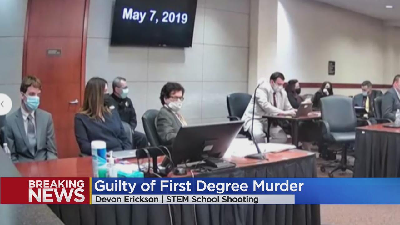 Guilty Of Murder: Jury Reaches Verdict In Devon Erickson Trial