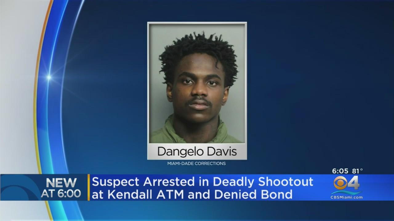 Suspect Arrested In Deadly Shootout At Kendall ATM